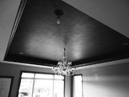 TRAY CEILING WITH METALLIC FINISH